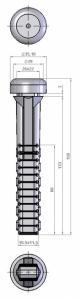 LC 53 BLACK 133 MM FLAT FINGER